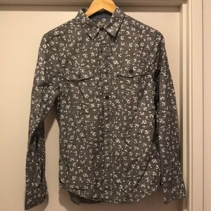 Nordstrom brand 1901 button down floral shirt